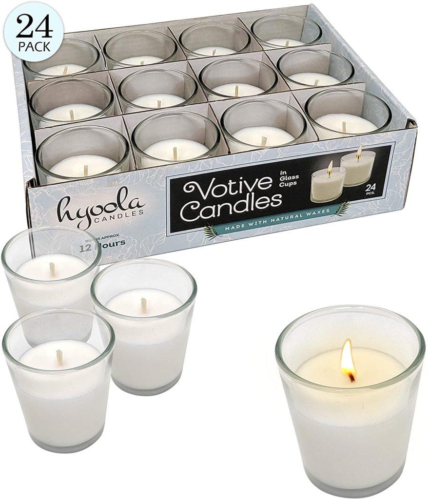 Entertaining Essentials - white votive candles