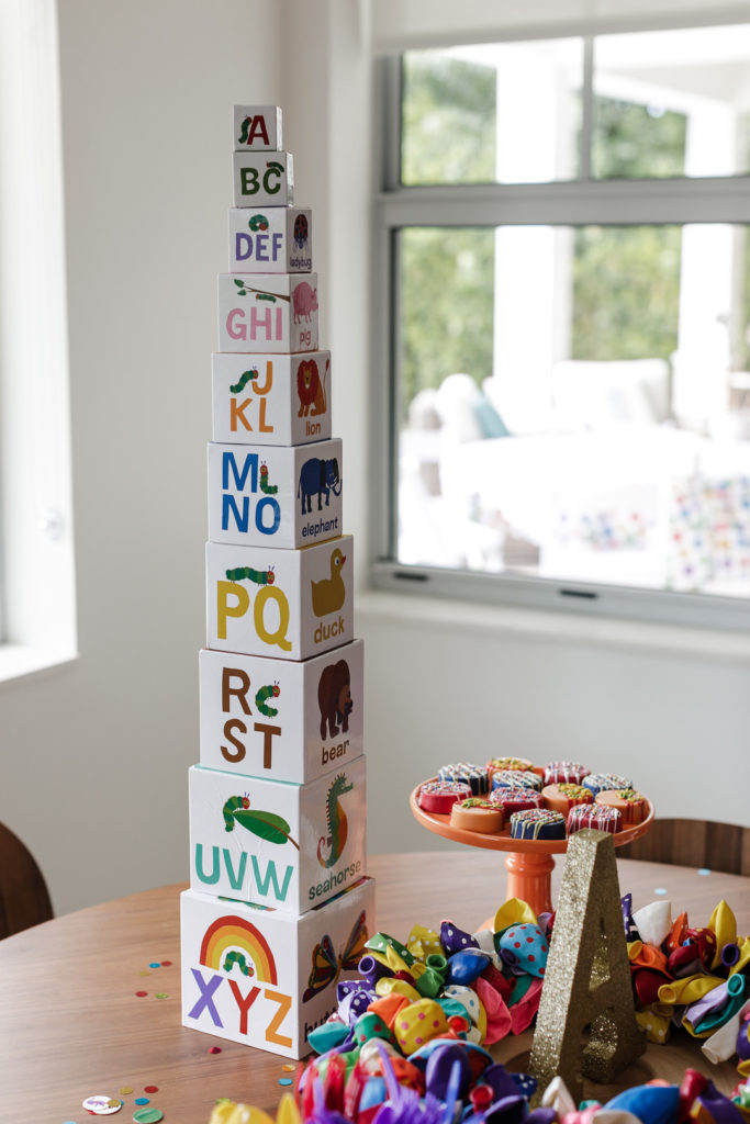 Eric carle alphabet stacking blocks