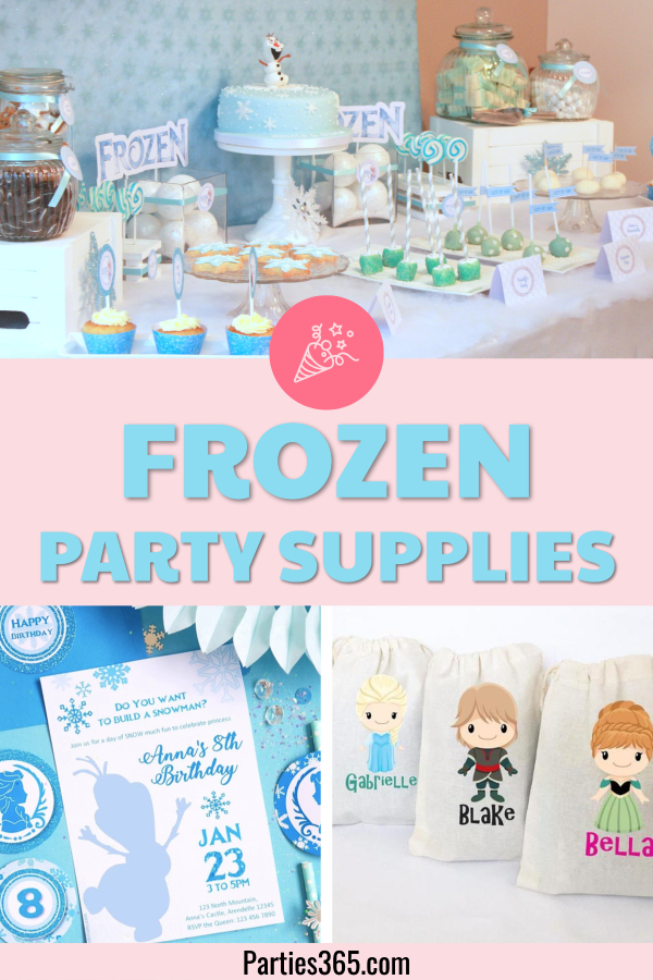 Frozen Birthday Party ideas, decorations and party supplies