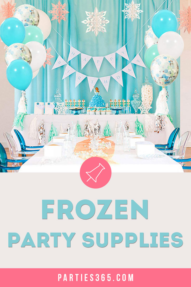 Frozen Birthday Party supplies and ideas