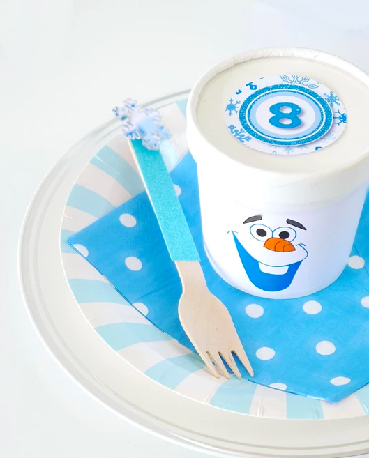 printable olaf party decorations