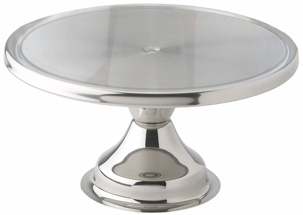 Entertaining Essentials - Stainless Steel Cake Stand