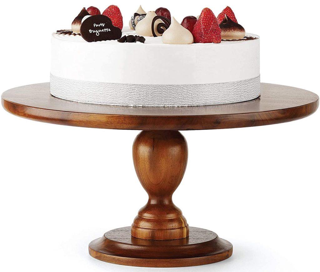 Entertaining Essentials - Wooden Cake Stand