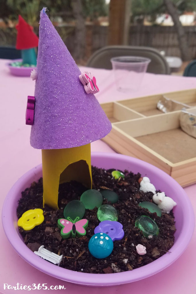 An Enchanted Fairy Birthday Party is the perfect theme for a little girl's big day! Here are some fabulous DIY ideas for decorations, the cake, favors, food and activities! #fairybirthday #fairyparty #partyideas #partydecor #birthdayparty