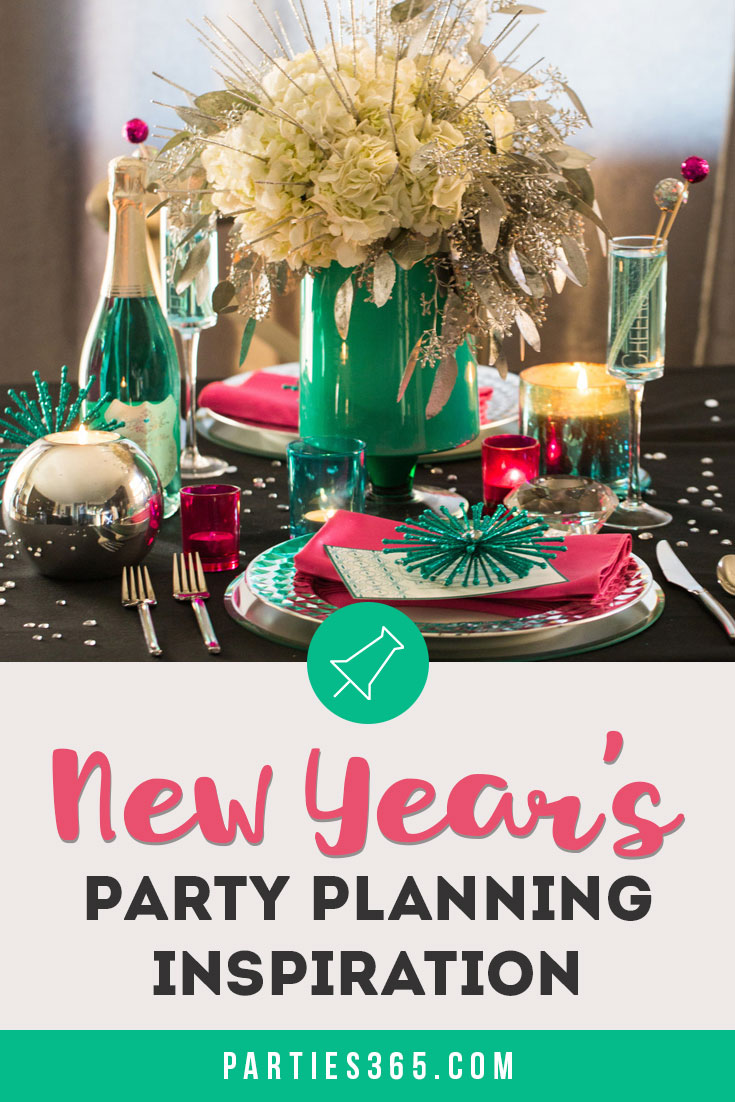 New Year's Eve or New Year's Day party ideas
