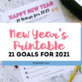 new year's printable goal setting worksheet