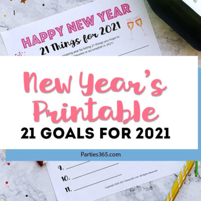 new year's printable goal setting worksheet