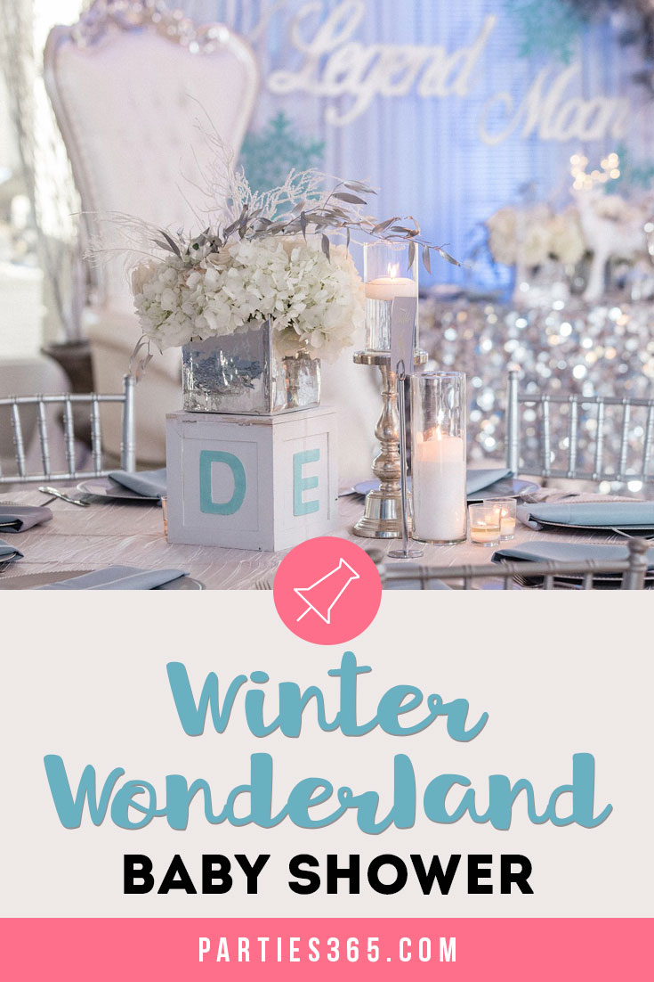 Winter Wonderland Baby Shower ideas