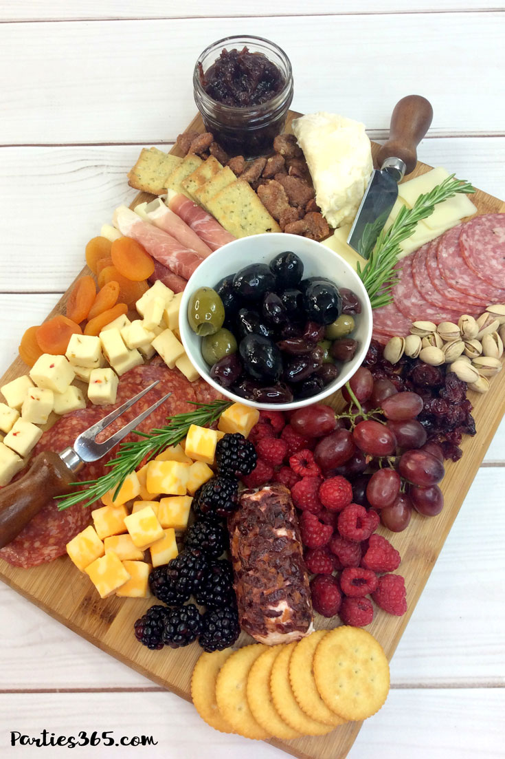 How To Make A Gorgeous Cheese Board For Your Next Party Parties365