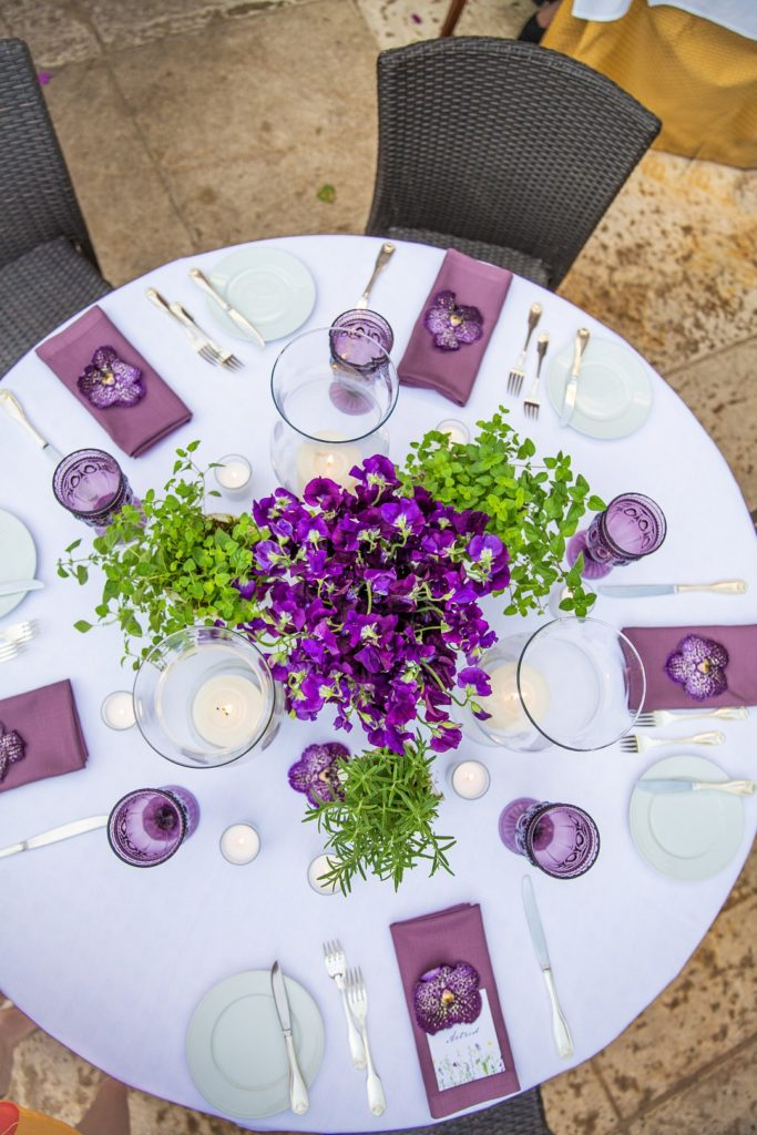 spring floral tablescape ideas