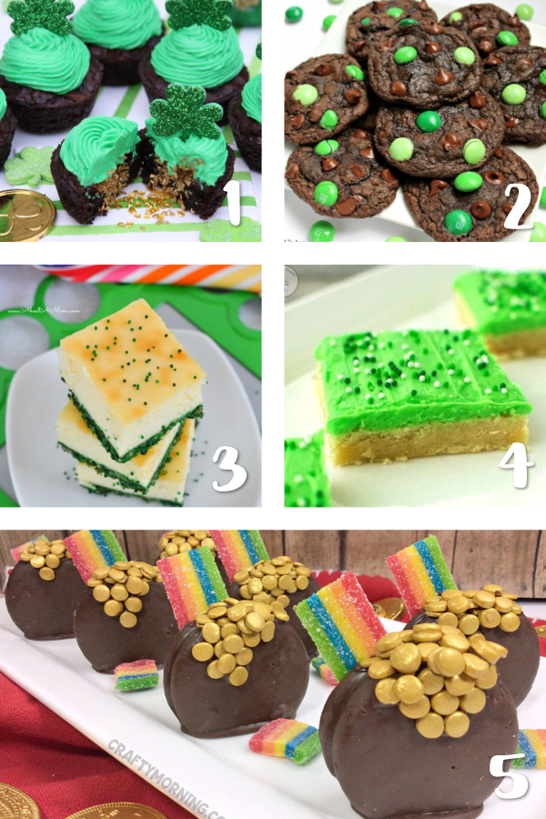St. Patrick's Day is the perfect time to bake up some sweet green treats for the lucky leprechauns in your life! We have the best dessert ideas for cakes, cookies, cupcakes and more for your St. Paddy's Day party!