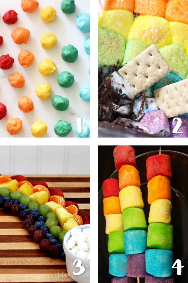 rainbow sweet treats