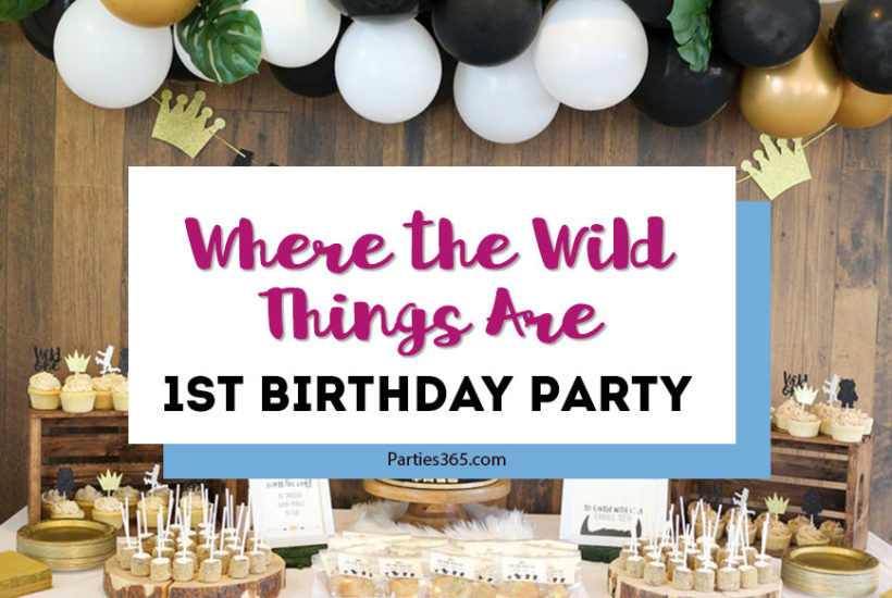 Where the Wild Things Are is a fabulous 1st birthday party theme! Fun for boys or girls, here are DIY ideas for throwing a Wild ONE first birthday party, including inspiration for your cake, decorations, centerpieces and more!
