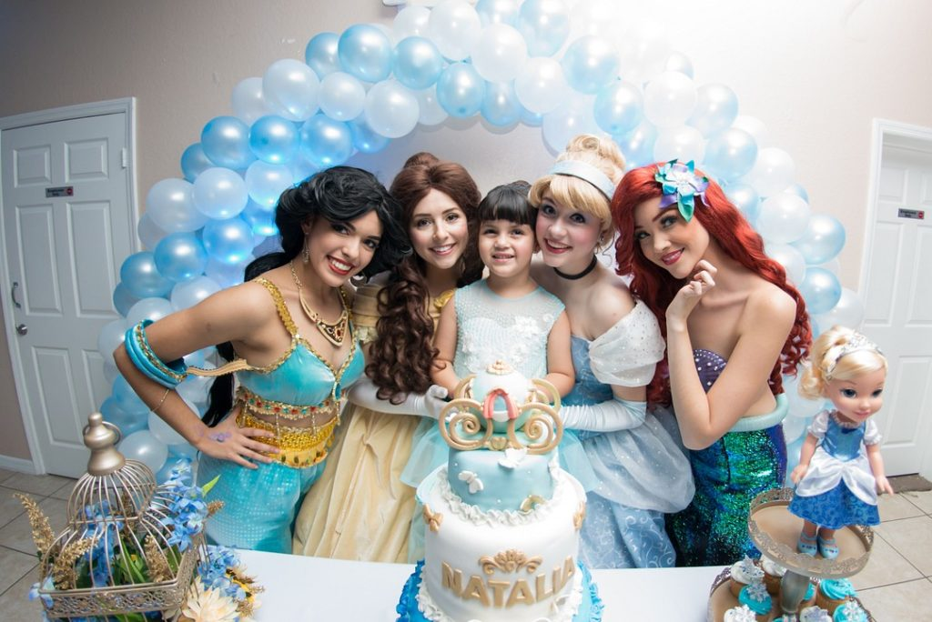 Disney princesses birthday party