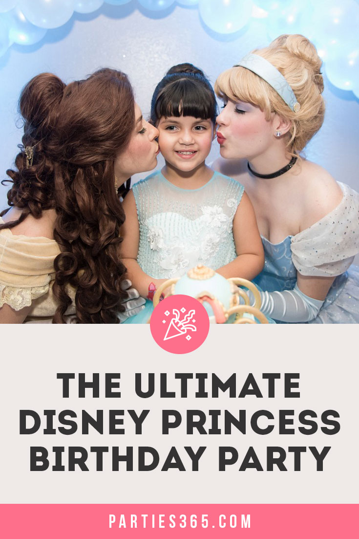 ultimate disney princess birthday party