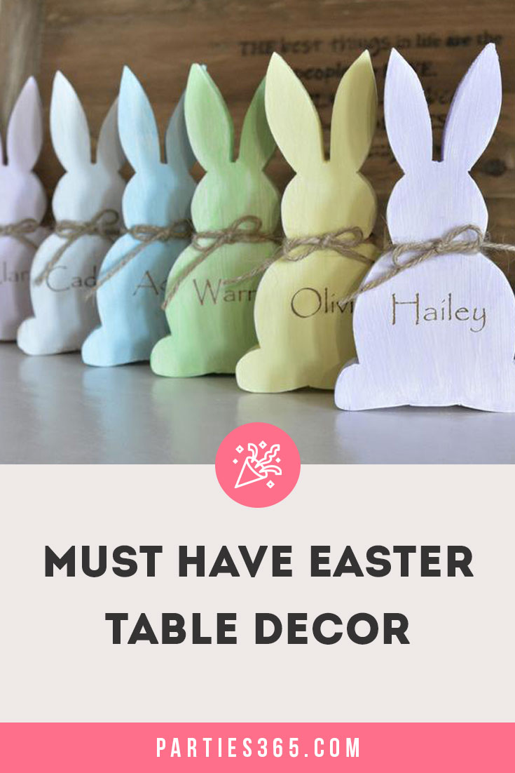 must have Easter table decor