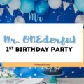 Mr. ONEderful Birthday Party