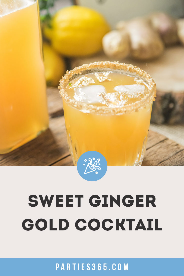sweet ginger gold cocktail recipe
