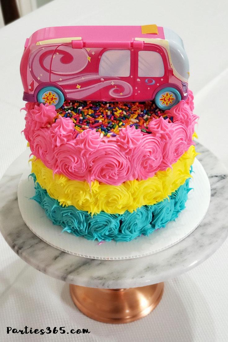 Sunny Day birthday cake
