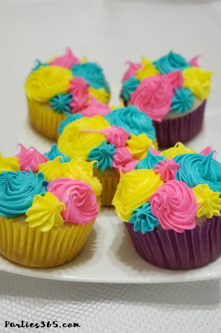 Sunny Day cupcakes