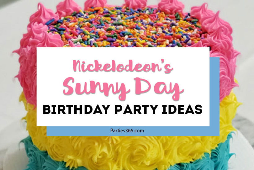Sunny Day Birthday Party