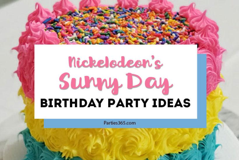 Sunny Day Birthday Party