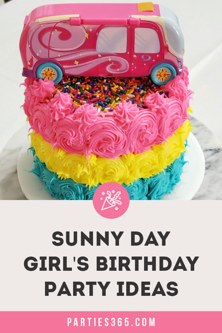 Sunny Day Birthday Party Ideas