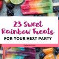 sweet rainbow treat recipes