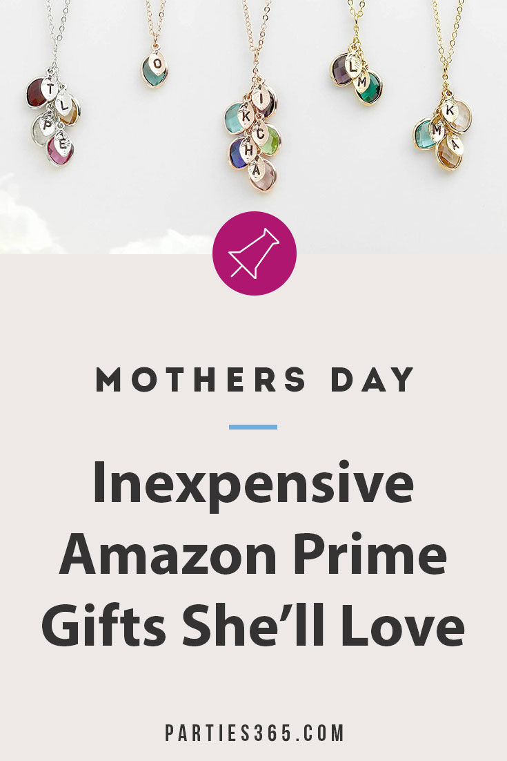 inexpensive mother's day gift ideas from amazon prime