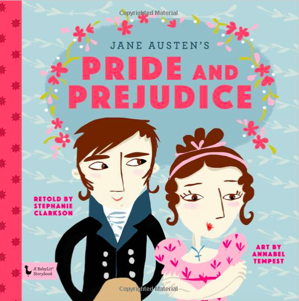 Pride and Prejudice baby book