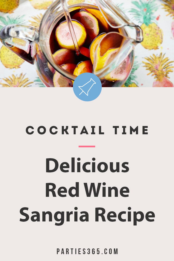 delicious red wine sangria recipe