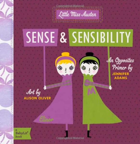Sense & Sensibility baby book
