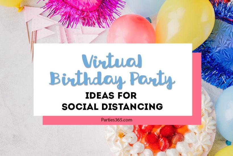 virtual birthday party ideas