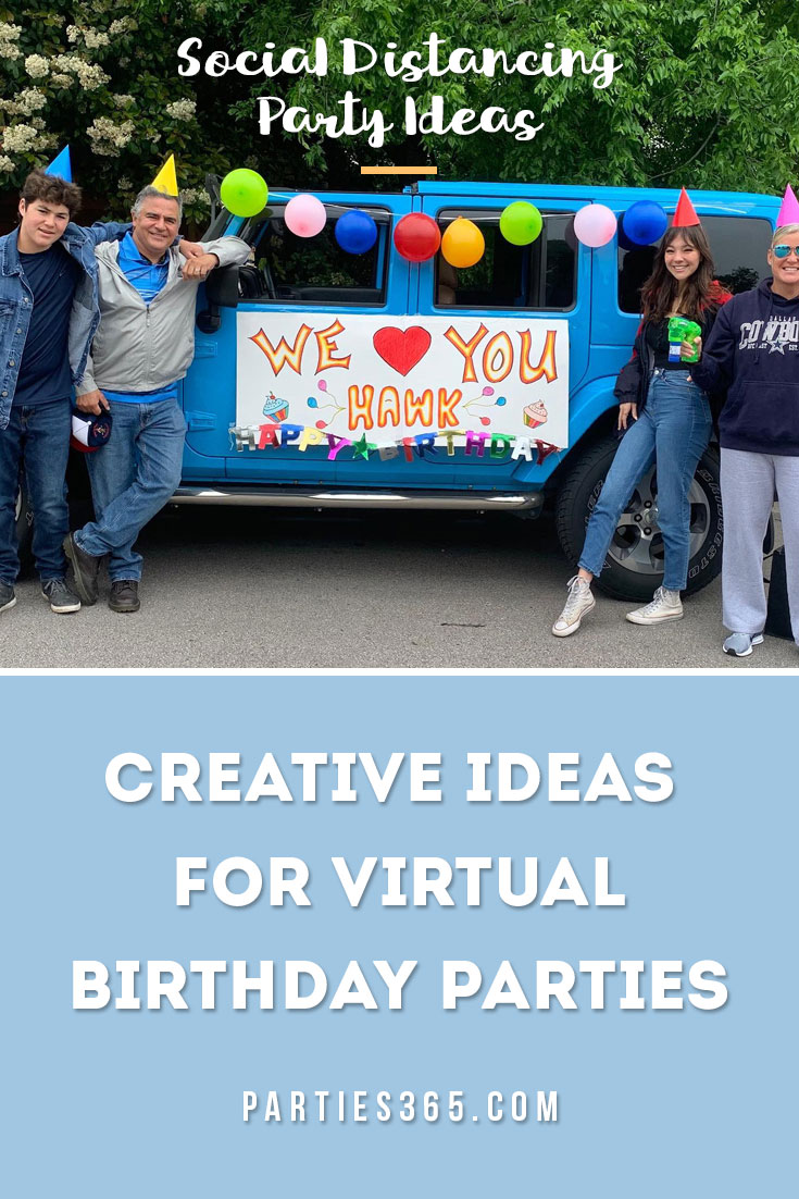 virtual birthday party ideas