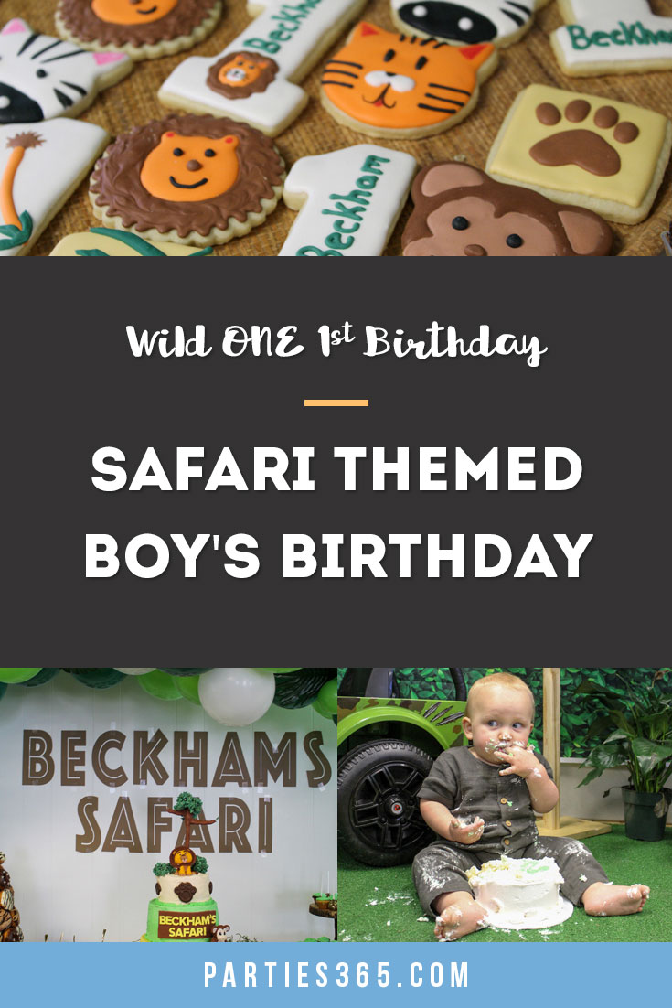 wild one safari first birthday party ideas