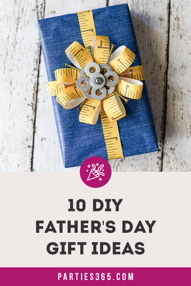 10 DIY Ideas for Father's Day gifts