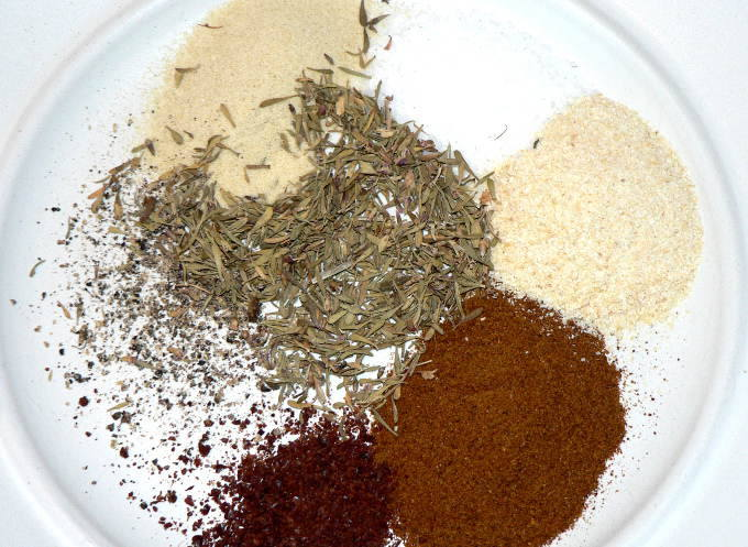 DIY rotisserie chicken spice rub