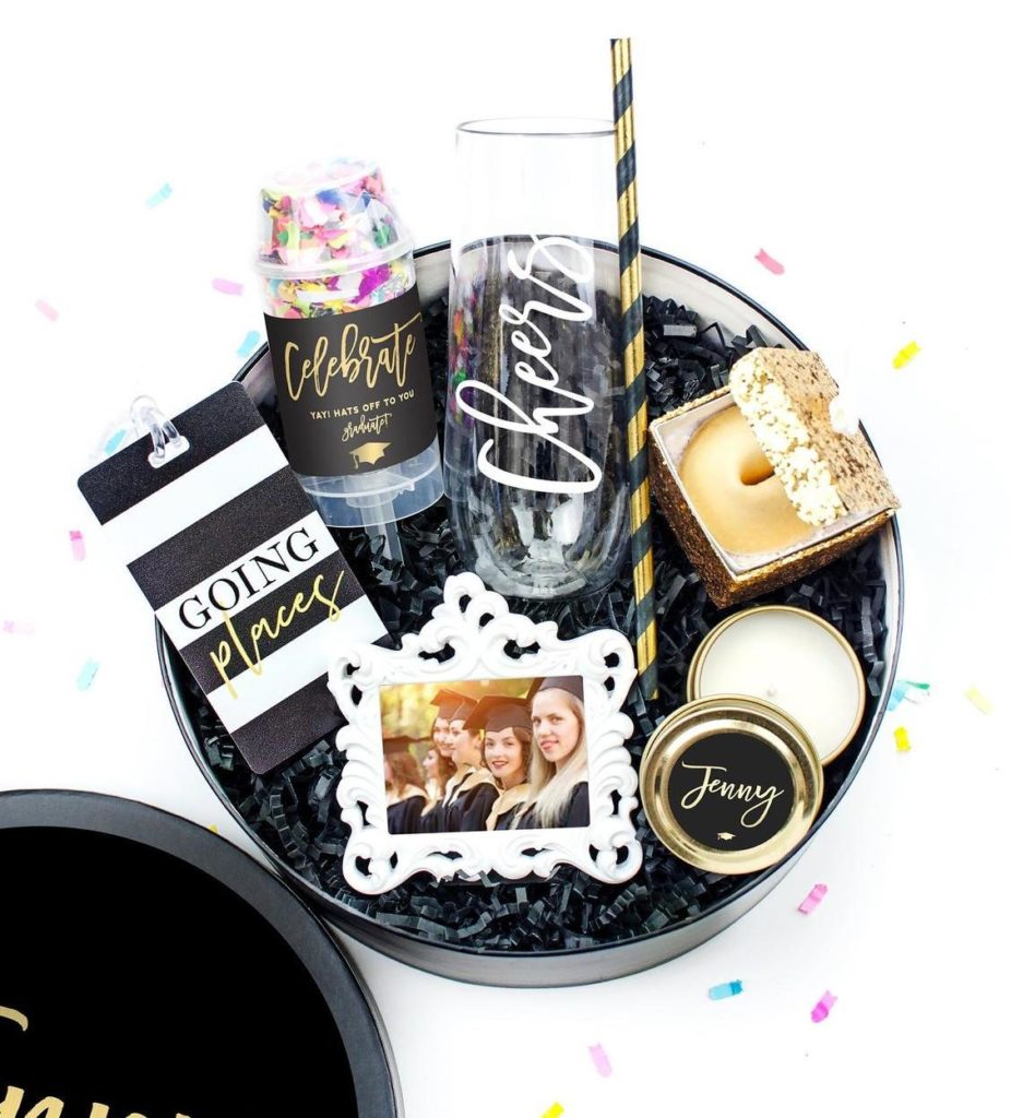 graduation celebration gift box