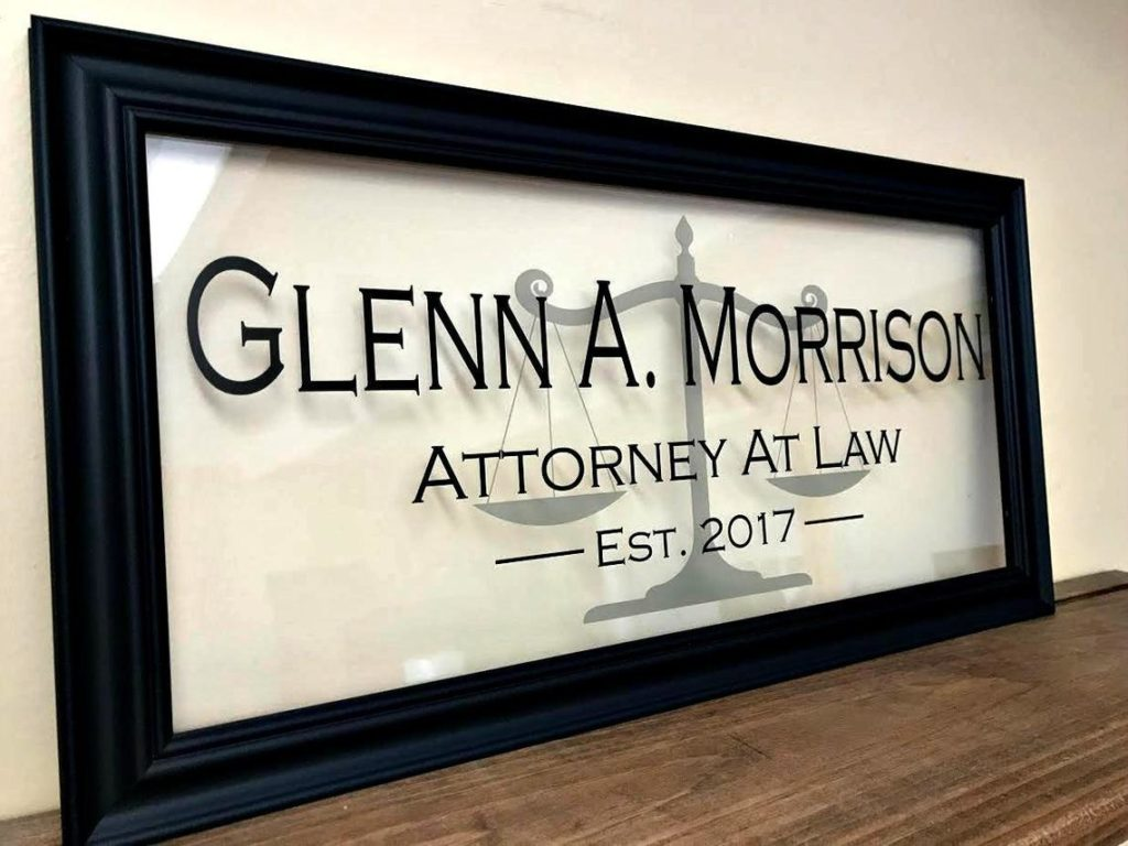 law school graduation gift sign