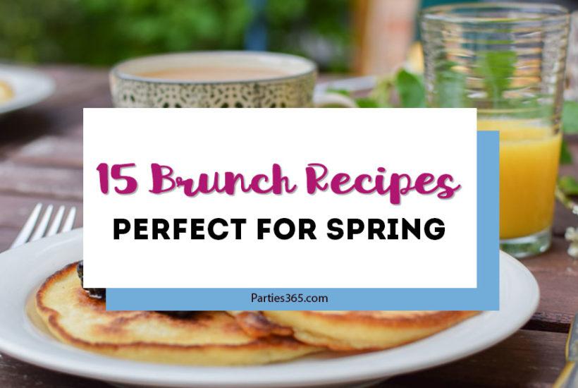 spring brunch recipe ideas
