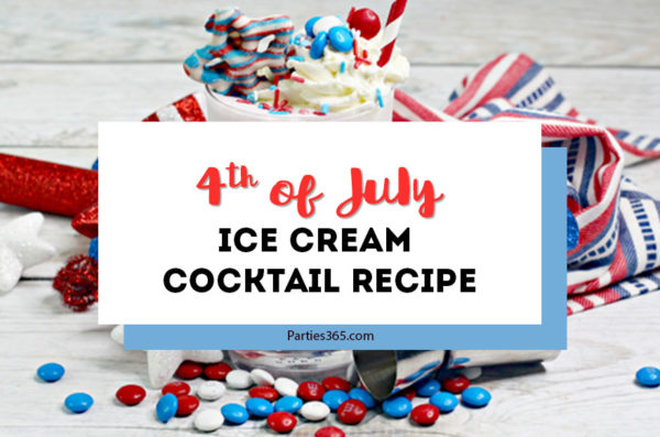 4th of july ice cream cocktail recipe