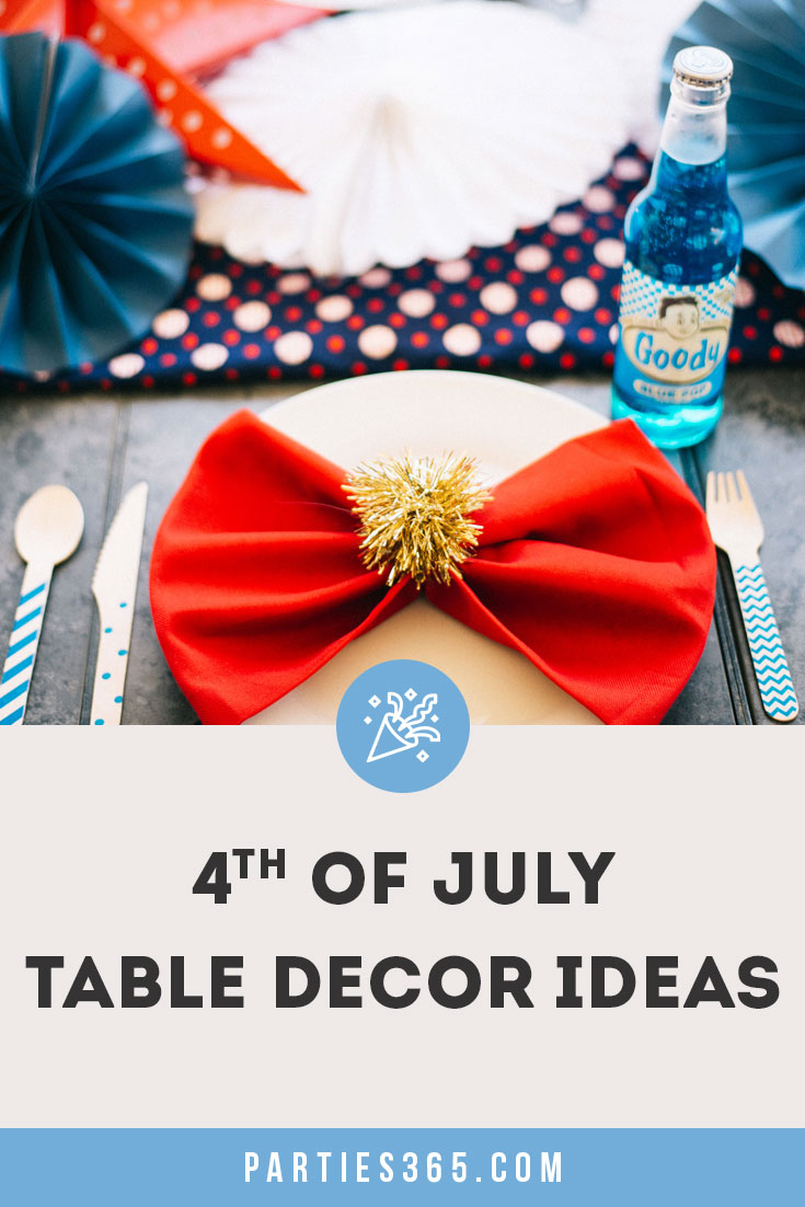 4th of July table decor ideas