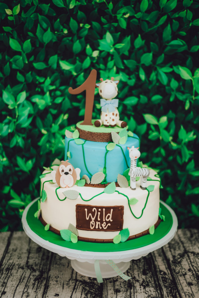 wild one first birthday cake