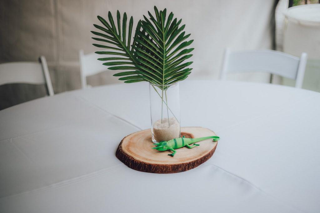 wild one party centerpiece ideas