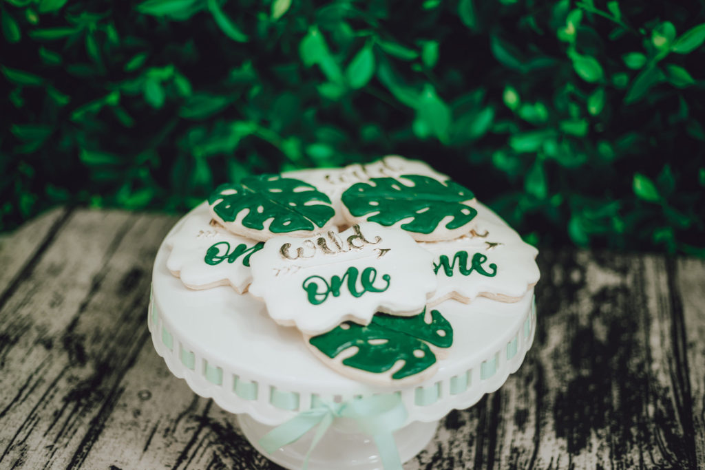 wild one custom sugar cookies