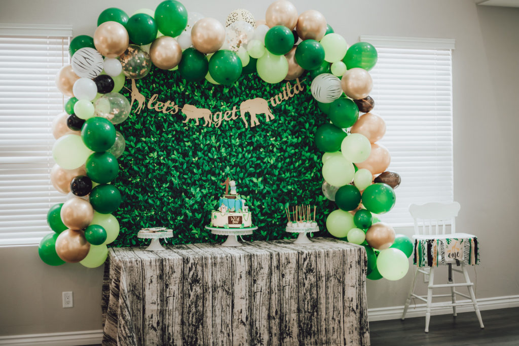 wild one first birthday party dessert table decorations