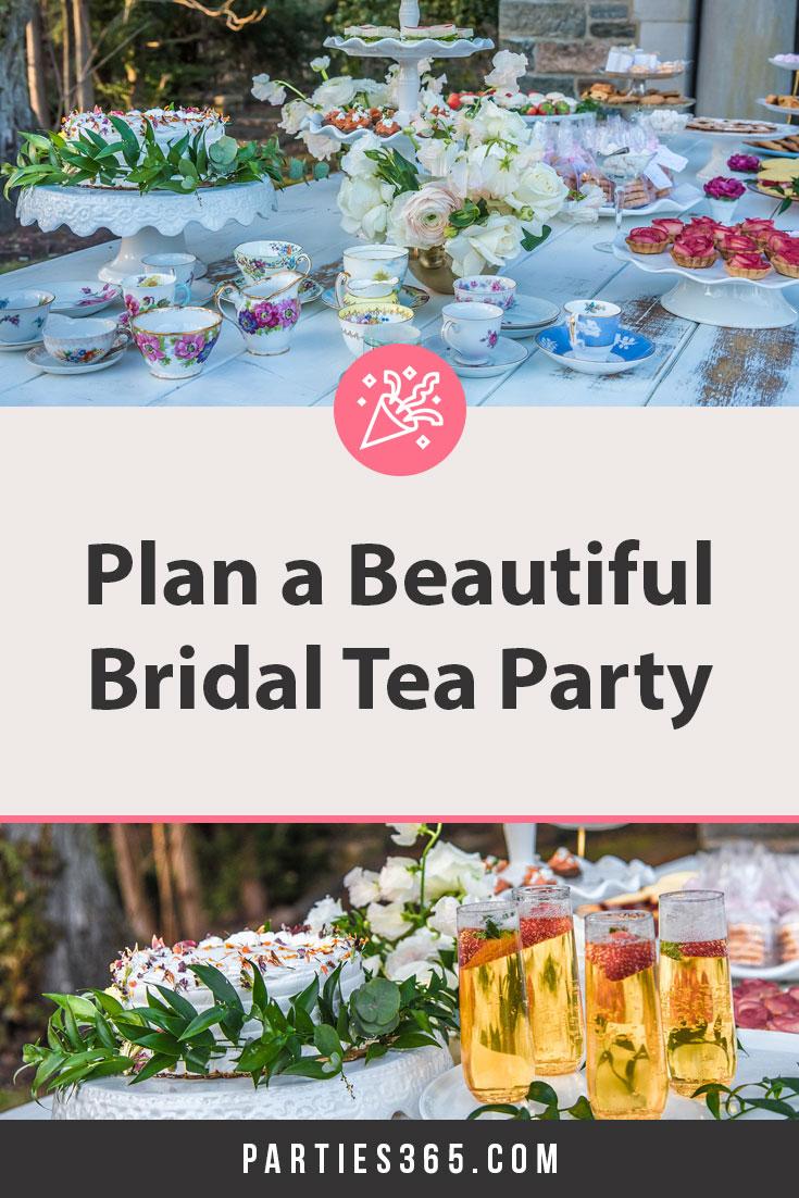 bridal shower tea party ideas