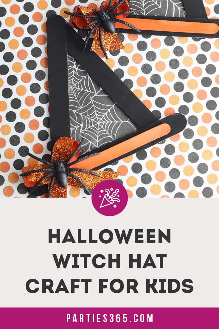 Halloween Witch Hat Craft Idea