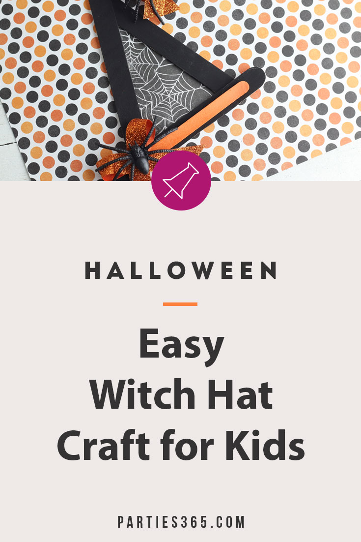 easy Halloween witch craft for kids