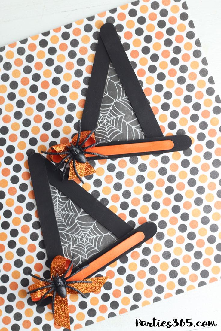 Halloween witch hat craft